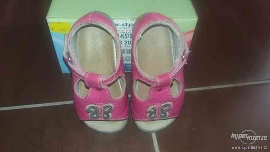 Vycházkova letní obuv