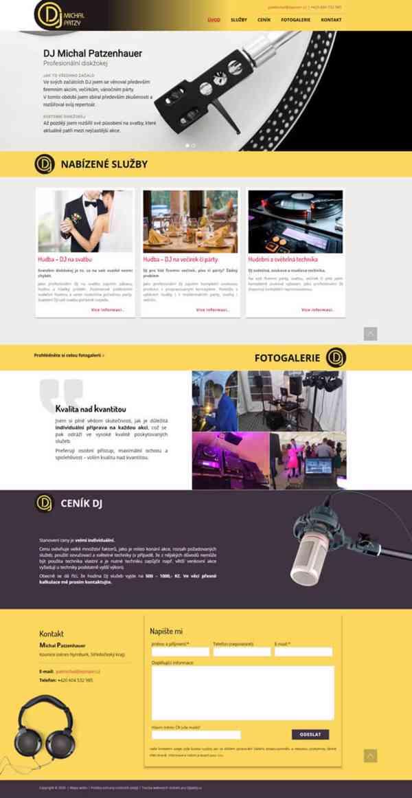 Tvorba webových stránek pro firmy i živnostník - foto 4