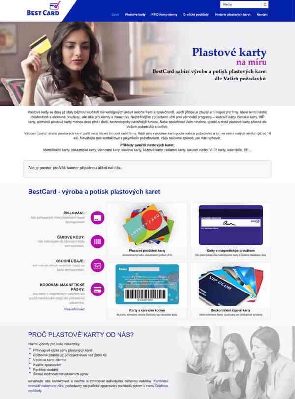 Tvorba webových stránek pro firmy i živnostník - foto 2