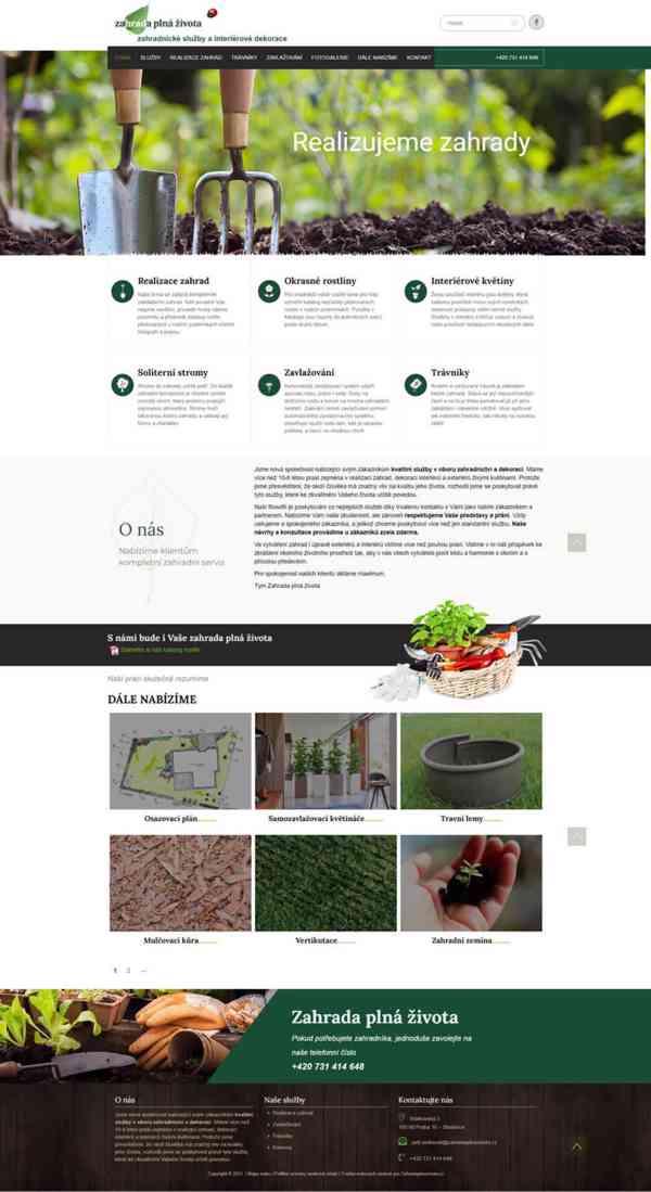 Tvorba webových stránek pro firmy i živnostník - foto 7