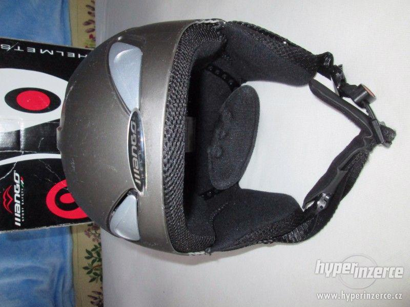 Lyžařská helma, Mango,  (vel. 53-55cm) - foto 2