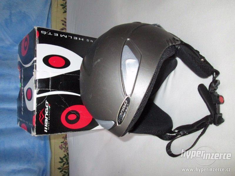 Lyžařská helma, Mango,  (vel. 53-55cm) - foto 6