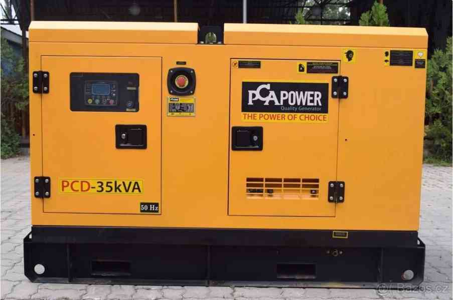 Dieselový generátor PCA POWER PRD-70kVA