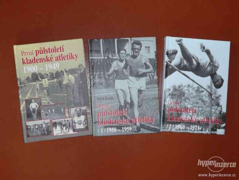 Knihy o atletice v Kladně