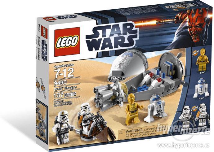 LEGO 9490 Star Wars - Únik droidů, RARITA, NEROZBALENÝ