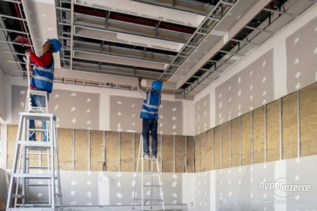 Stavební dělník (zedník, sádrokartonář, obkladač) - foto 1