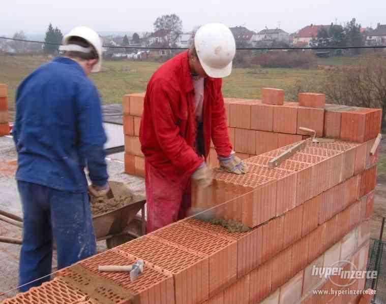 Stavební dělník (zedník, sádrokartonář, obkladač) - foto 2