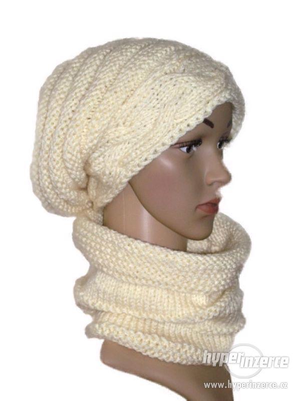 Ručně pletený set