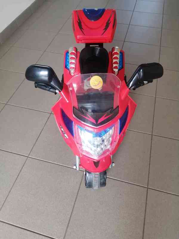 Dětská elektrická motorka