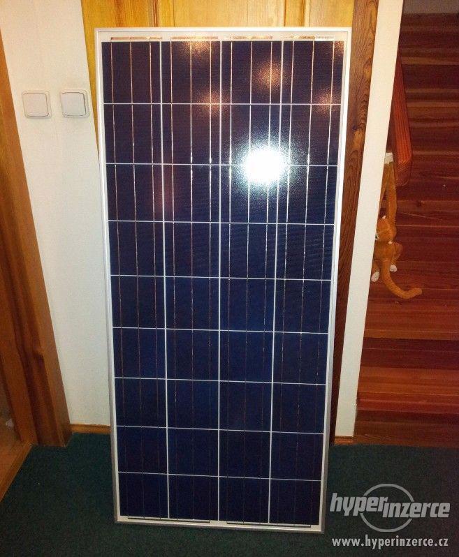 Solární panel fotovoltaický polykrystal 175W - 12V - foto 1