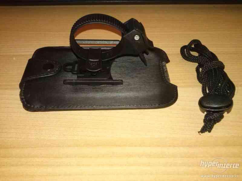Kožený držák mobilního telefonu na kolo - foto 2