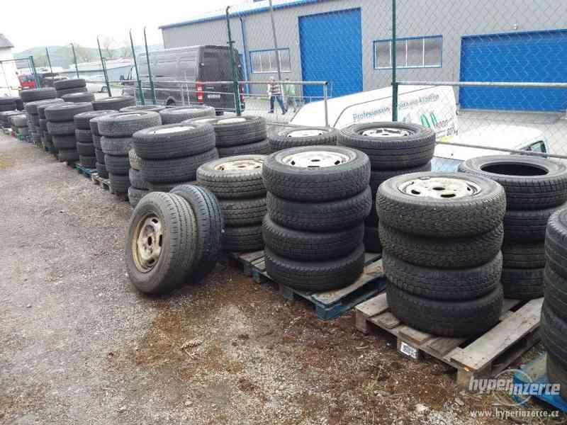 Výprodej pneu na užitkové vozy Ford,Citroen,Peugeot