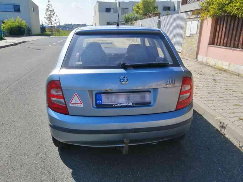 2002 Škoda Fabia 1.4 MPI, STK do 06/22 - foto 3