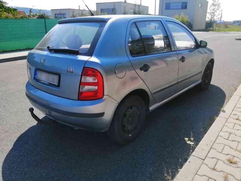 2002 Škoda Fabia 1.4 MPI, STK do 06/22 - foto 5