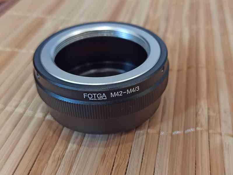 Redukce olympus pen e-pl m4/3 - objektiv M42