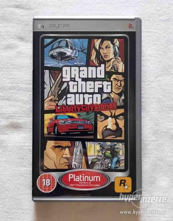 PSP - Grand Theft Auto Liberty City Stories