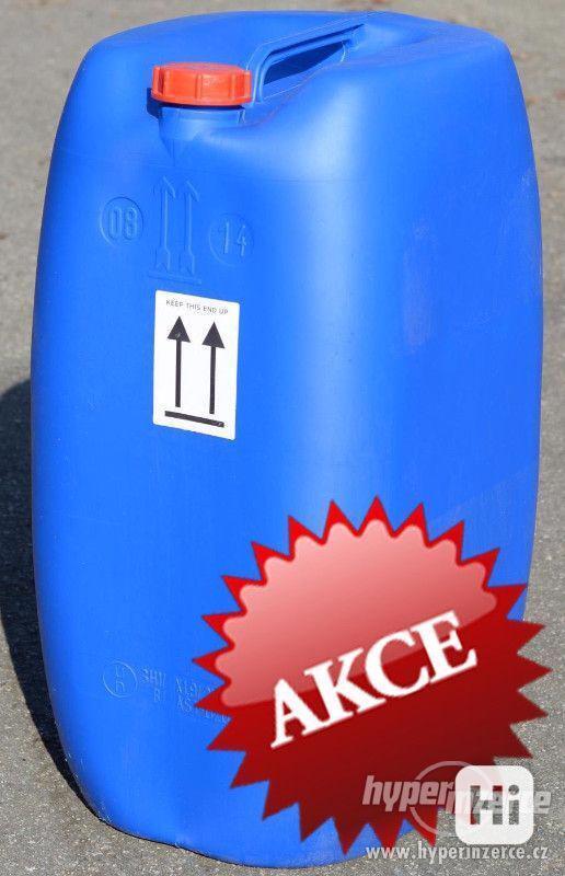60L kanystr-plastový, modrý, repasovaný (barel, bečka) - foto 1