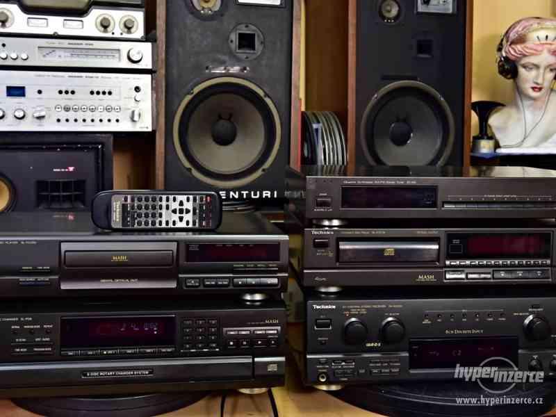 HiFi Technics - AV receiver - CD přehrávače - Tuner