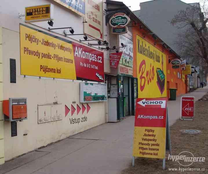 AKompas Brno půjčka úvěr bez zástavy i se z. v registru