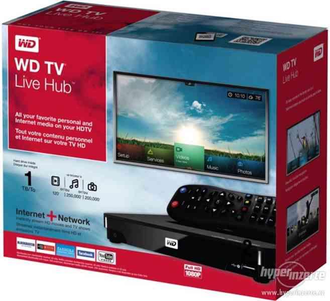 Multimediální přehrávač WD TV Live HUB - foto 3