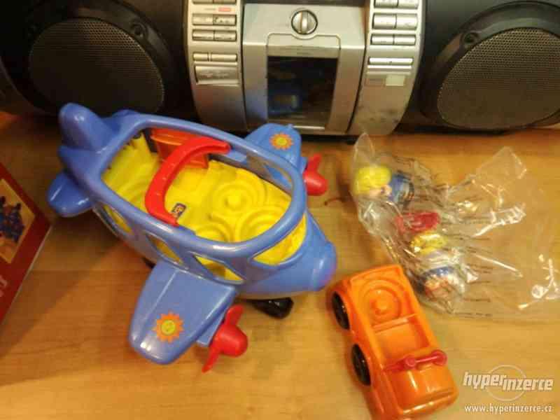 dětské letadlo, plastové, otvírací