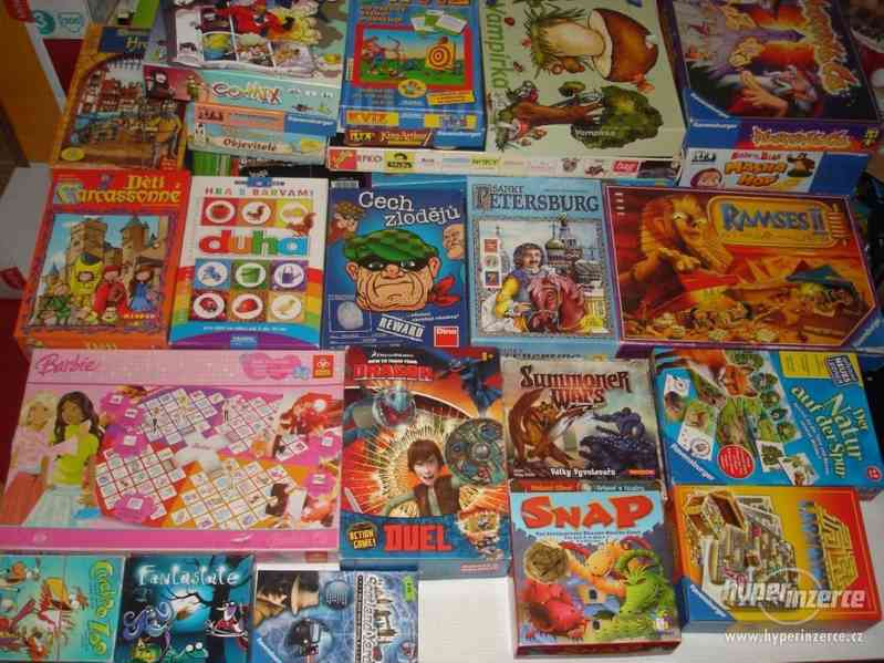 Nabízím společenské hry, deskové hry, deskovky (boardgame)