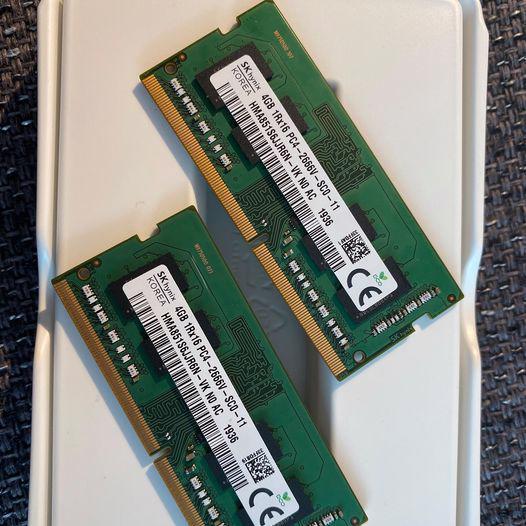 2 x Hynix RAM DDR4, 4GB, Notebook, PC4-2400T, SO-DIMM - foto 1