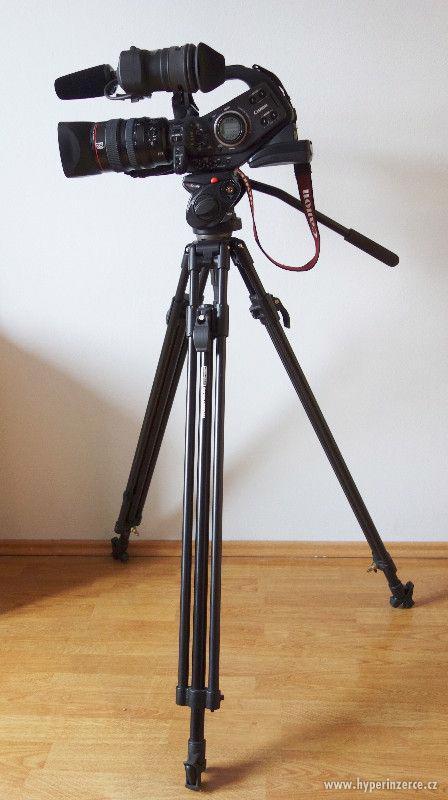 Profesionální videokamera CANON XL-H1 a příslušenství