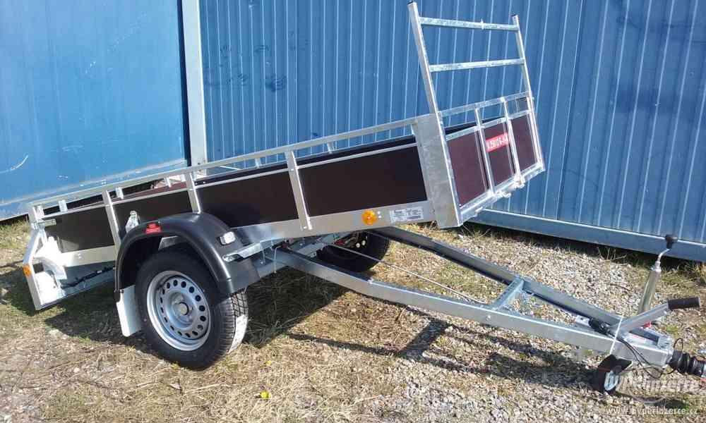 Prodám nový přívěsný vozik sklopný