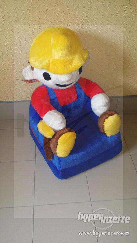 NOVÉ Dětské Rozkládací Křesílka 2v1 (Možný ZDARMA Dovoz) - foto 8