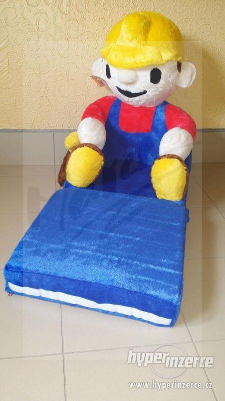 NOVÉ Dětské Rozkládací Křesílka 2v1 (Možný ZDARMA Dovoz) - foto 9
