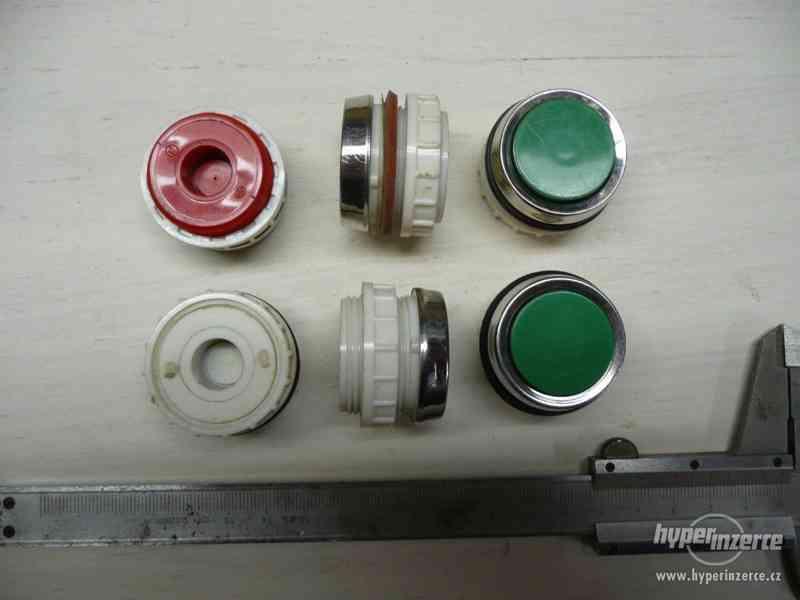 Elektro spínače, tlačítka, kontrolky T6