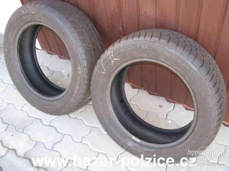 2 zimní pneumatiky Barum