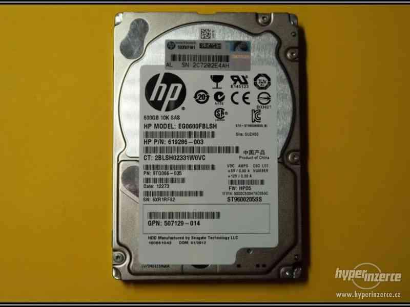 "Disk HP 600GB SAS 2,5"" 10K 6G HotPlug 619286-003"