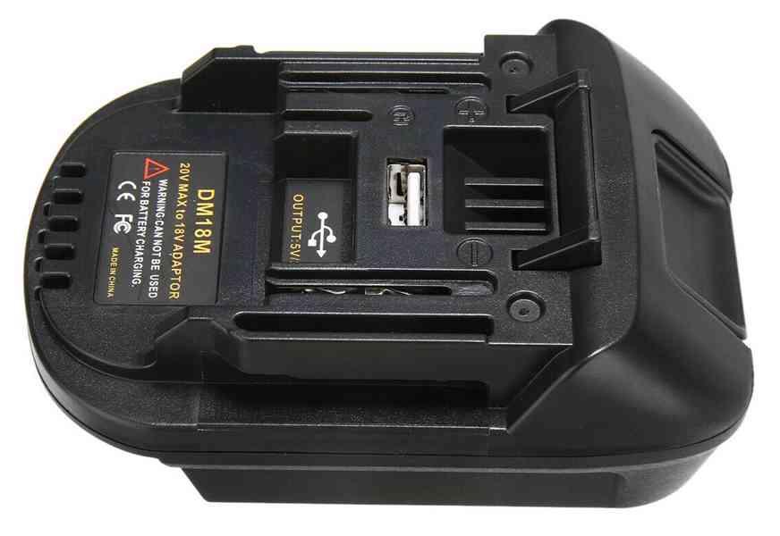 Prodám akumulátor. adaptér DM18M - foto 4