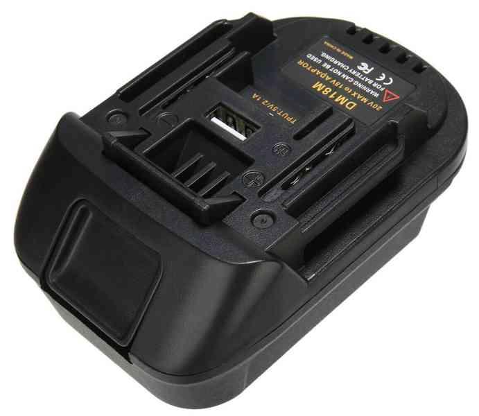 Prodám akumulátor. adaptér DM18M - foto 1