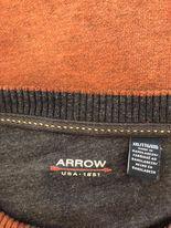 Arrow svetr hnědý, v perfektním stavu  - foto 2