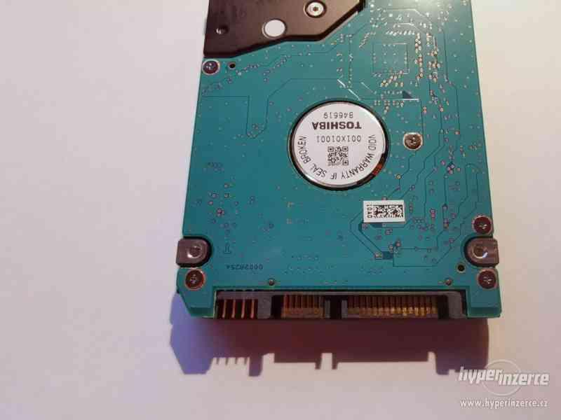 """HDD Toshiba 750GB SATA 2,5"""" pevný disk pro notebook - foto 2"""