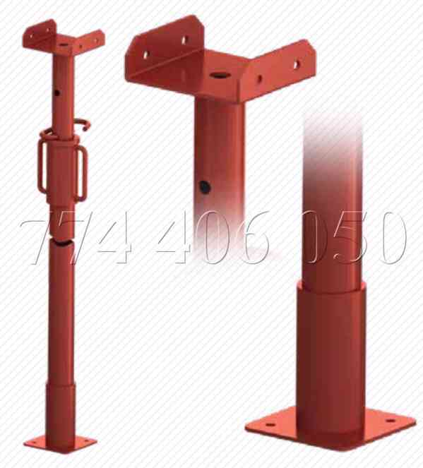 Prodám různé výsuvné stojky od výšky 0,5 m až 5,5 m - foto 4