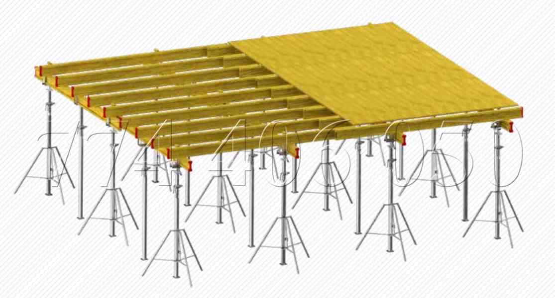 Prodám různé výsuvné stojky od výšky 0,5 m až 5,5 m - foto 8