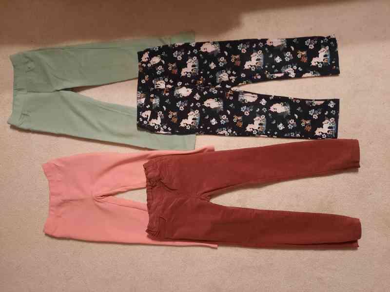 Dívčí kalhoty/kahotové legíny – vel. 116