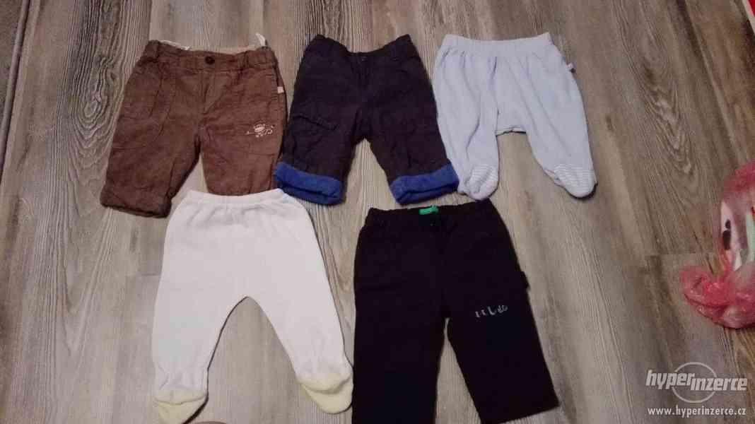 Prodám chlapecké kalhoty