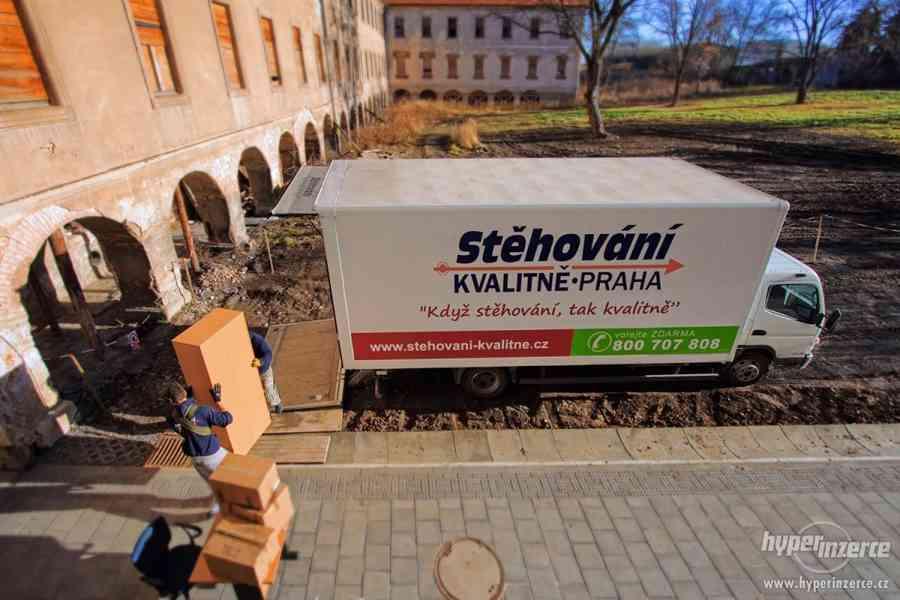 Stěhování kvalitně Praha - foto 2