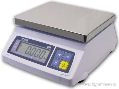 Digitální cejchovaná váha CAS SW1