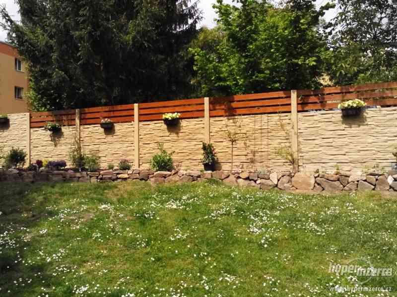 Betonové ploty od českého výrobce