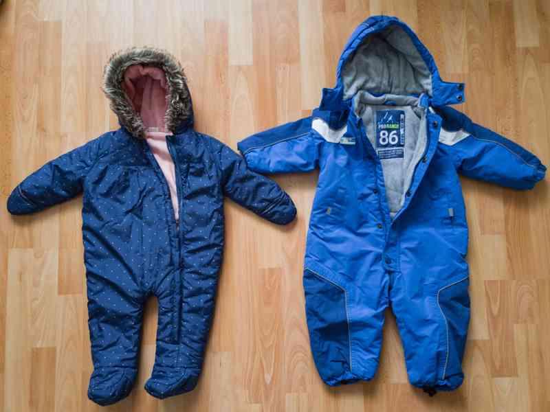 Zimní overal/kombinéza 74 a 86