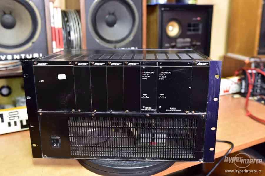 BOSE modulair amplifier MA 050, MA 200 brutální toroid, 20kg