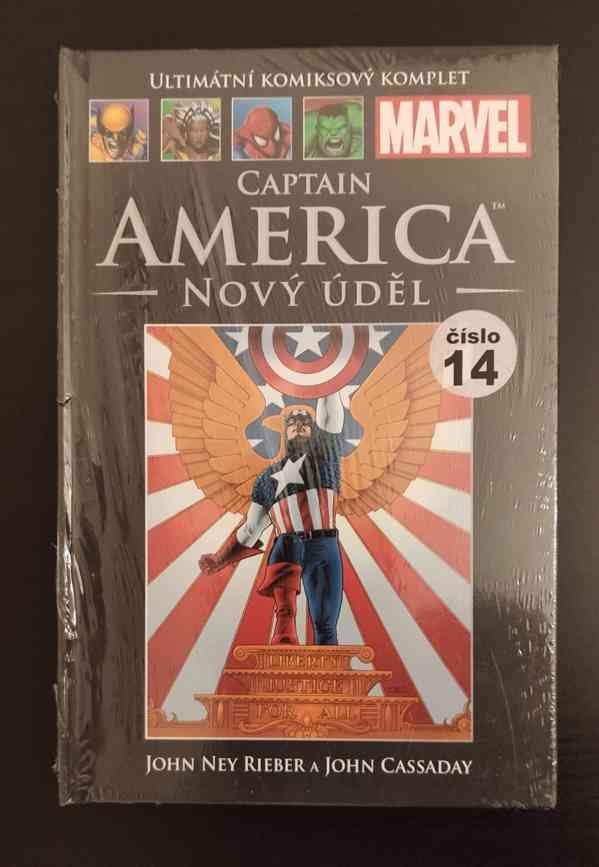 Marvel Komiks UKK 14: Captain America: Nový úděl