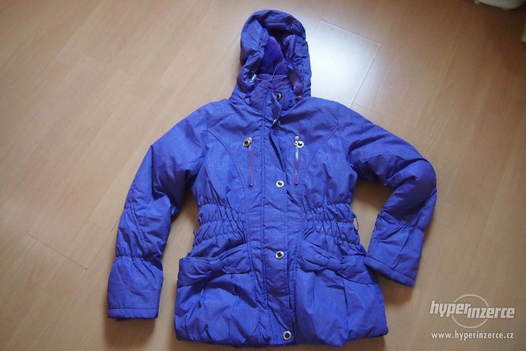 Dívčí zimní bunda - foto 1