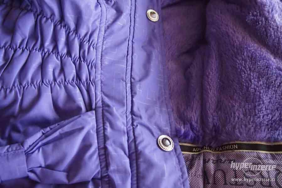 Dívčí zimní bunda - foto 5